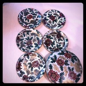 Other - Vintage used holiday coasters, fair condition